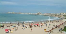 Playa en Cádiz
