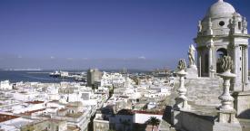 Vistas desde Catedral Cádiz