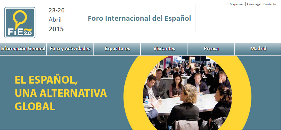FIE 2.0 Foro Internacional de Español en IFEMA