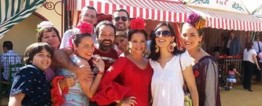 Feria de abril de Sevilla, un espectáculo de luz