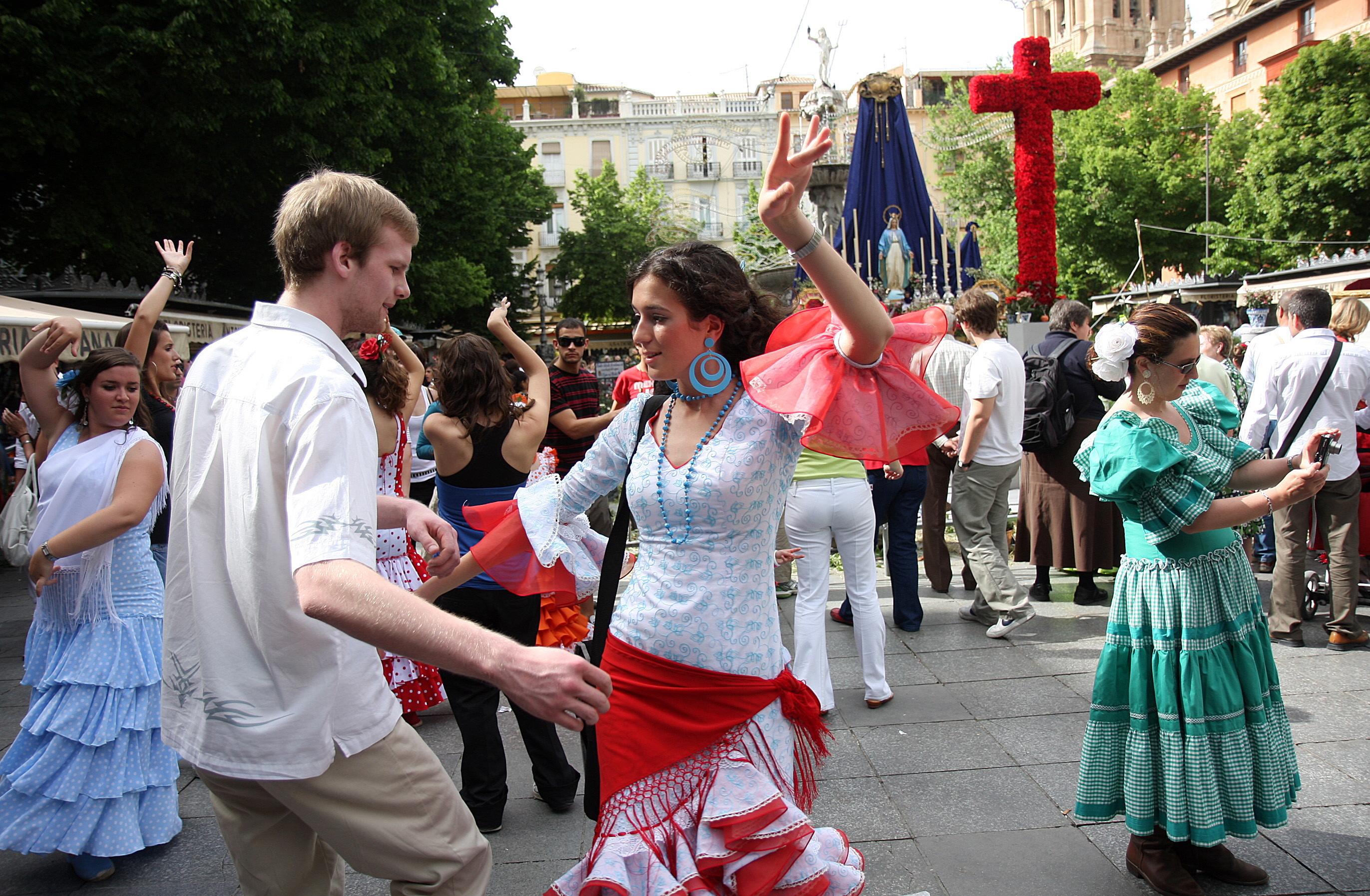 """3 de Mayo, """"El día de la Cruz en Granada"""""""