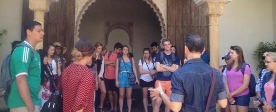 Charla sobre el turismo idiomático en el Ayuntamiento de Málaga