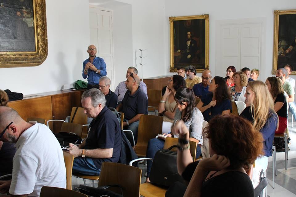 Charla sobre el Programa Erasmus+ a las escuelas de EEA