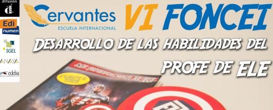 VI FONCEI organizado por Cervantes E.I.