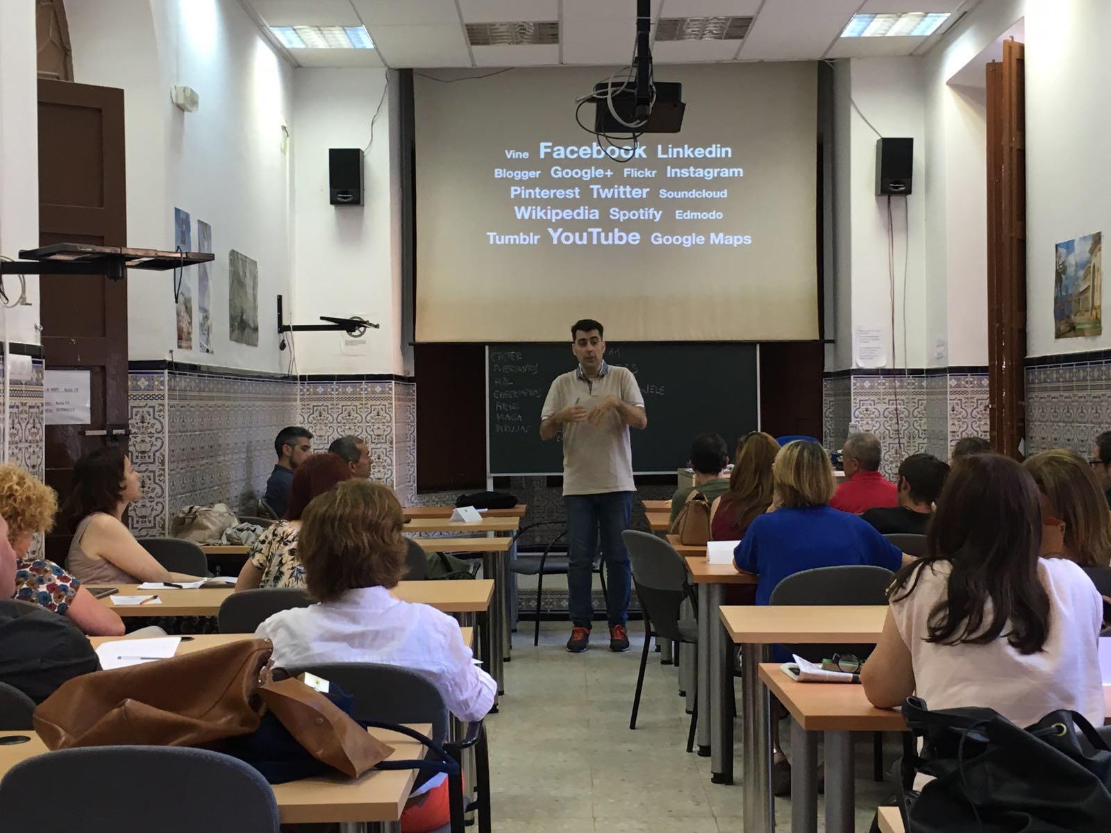 Formación para profesores en Debla: «La competencia digital docente en el aula de ELE»