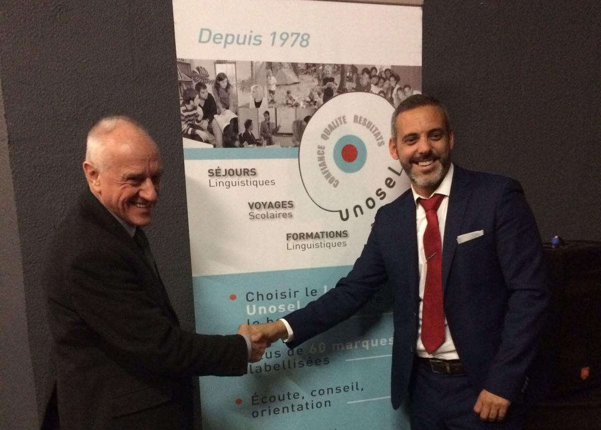 Reunión UNOSEL y EEA en el Instituto Cervantes de París