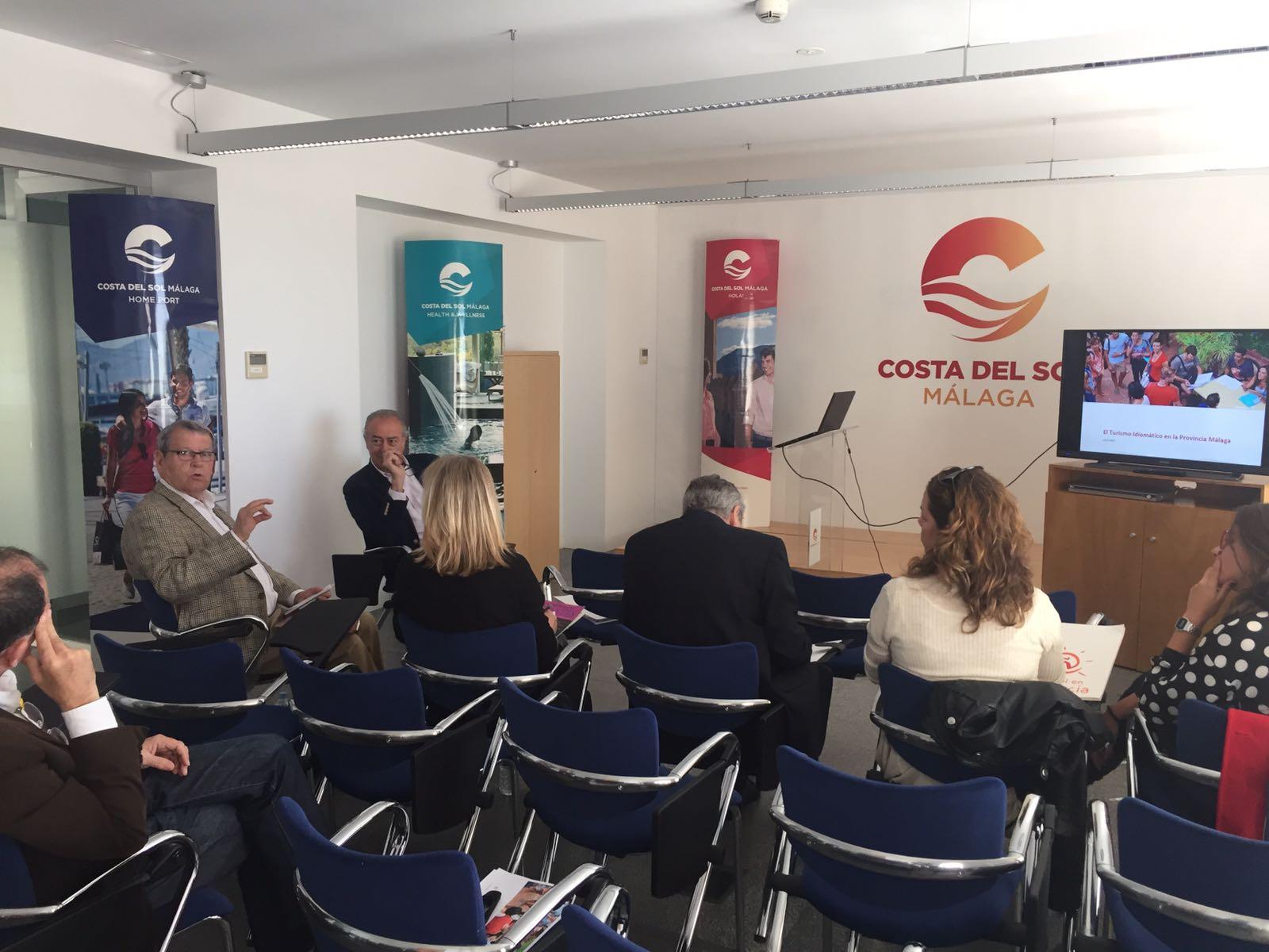 Presentación del estudio sobre el Turismo Idiomático en la provincia de Málaga