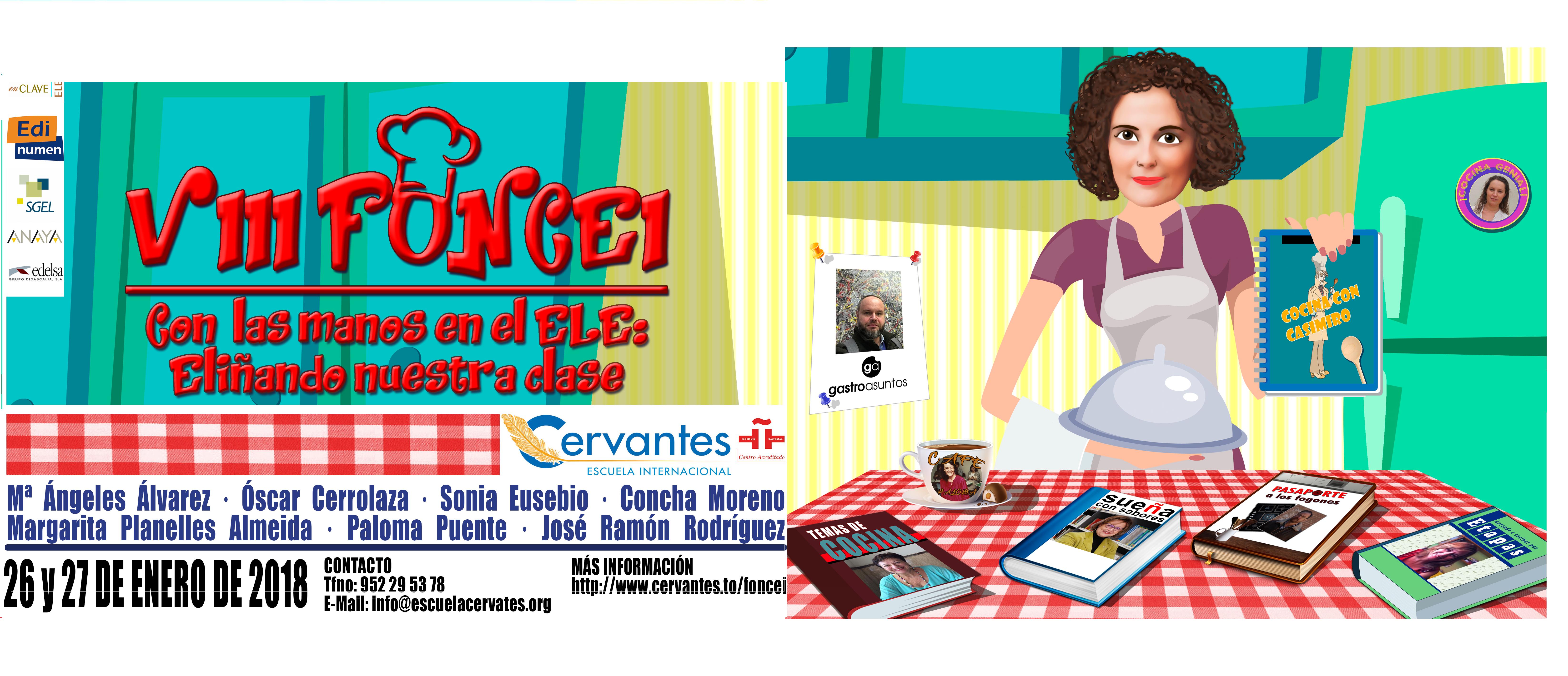 VIII FONCEI: Foro Nacional de Cervantes Escuela Internacional