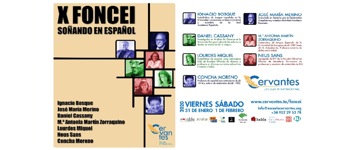 X Foro Nacional de Cervantes Escuela Internacional. Soñando en español
